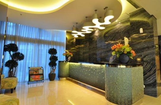 reception hotel best western mega kuningan